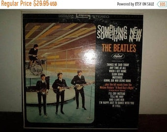 Vintage 1971 LP Record The Beatles Something New Capitol Records ST-2108 Stereo Near Mint Condition 10432