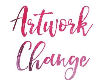 Artwork Change