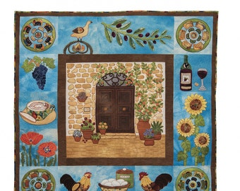 Wool Pattern - Tuscany by Felice Troutman of Felice Quilt Designs - Pattern & Templates 1063900