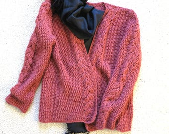 Vest color old pink
