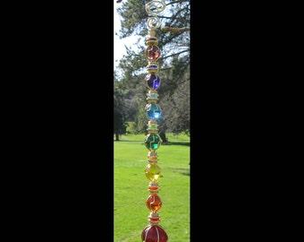 Chakras Suncatcher Rainbow Suncatcher Meditation Tool