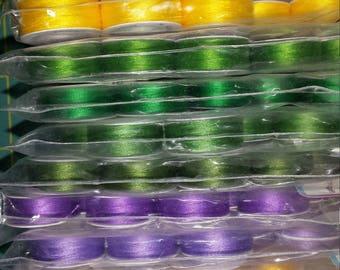 Masterpiece thread by Alex Anderson prewound bobbins. 100% Cotton.