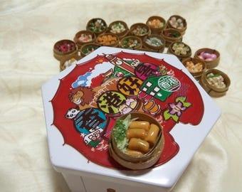 Miniature Dim Sum Magnet