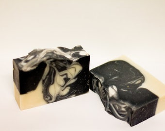 Charcoal and Silk Soap Bar