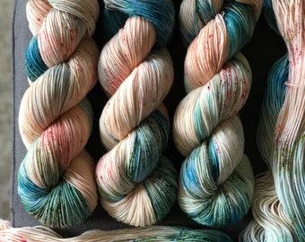 Macaron Hand Dyed Sock Yarn