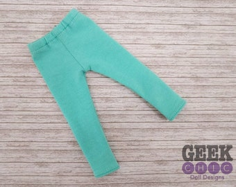 "Mint Leggings, fits 14.5"" dolls"