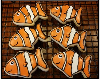 Little Nemo Cut Out Sugar Cookies - 1 Dozen
