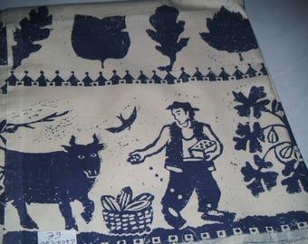 A beautiful cut work pattern cotton fabric