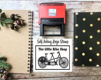 Turn Your Logo into a Stamp -  Custom Self Inking Stamp by Stampit