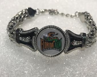 Florida A&M University Rattlers Adjustable Bracelet W/ Glass Beads
