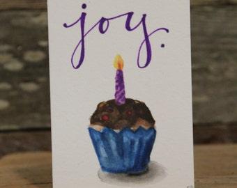 Birthday Joy - Set of 5 Cards