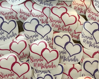Memorial Vinyl Decal for Stormie & Michaela - Your choice of decal color