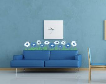 Gerber Daisies - Vinyl Wall Decals