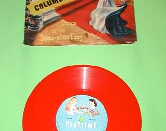 Cinderella playtime non-breakable record Columbia vintage original