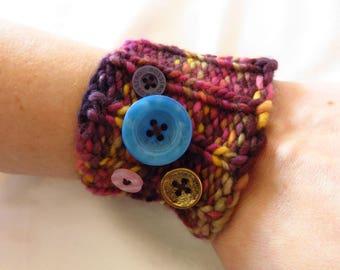 Funktastic Cuff - Handknit cuff