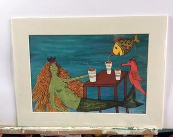 Mermaids tea party