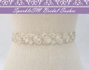 Ceinture de strass, ceinture de mariage, parée de ceinture de mariée, ceinture de robe de mariage, Prom Sash, ceinture, ceinture, ceinture de mariée cristal