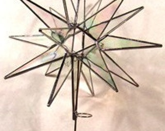 18 Point Moravian Star Tree Topper