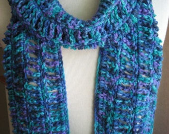 Oceana Openwork Scarf , Crochet Pattern Pdf, Instant Download Available
