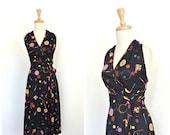 Vintage Halter Dress - 70...