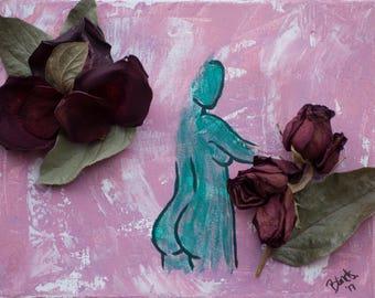 Poised. 8x10 Art Print.