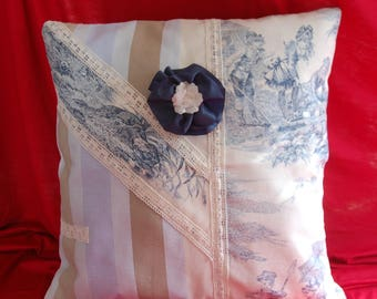 COVER of Pillow 40 40 toile de jouy