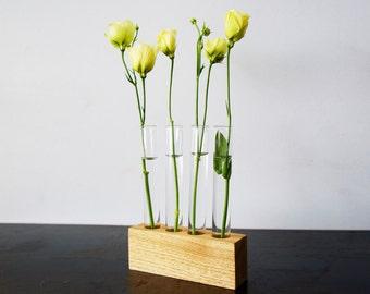 Test Tube Flower Bud Vase