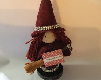 Wishing Witch, Ornament.