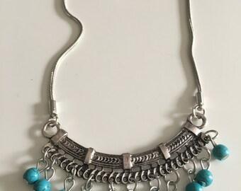 Boho necklace, gypsy necklace, tribal necklace, bohemian jewelry
