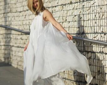 Boho Wedding Dress, White Silk Dress, Kimono Dress, Maxi Kaftan, Beach Wedding Dress, Long Summer Dress, White Caftan, Japanese Clothing