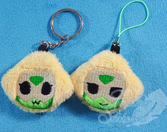 MADE TO ORDER- Peridot Soft Charm / Screen Cleaner Steven Universe