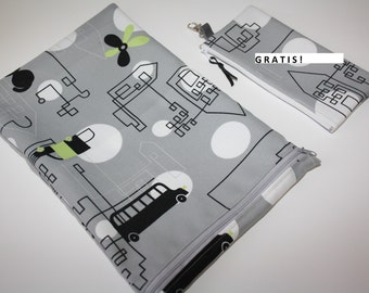 Big Bag Organizer Insert / Zipper Pouch, Organizer /for holidays, on the beach, on cables, in a travel bag, organizer