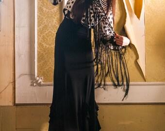 Offer! Alba Flamenco Model Skirt