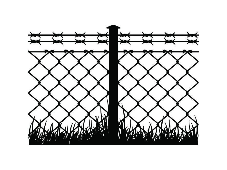 Magnificent Razor Wire Clip Art Pattern - Everything You Need to ...