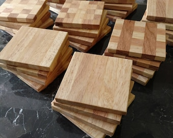 Wooden End Grain Coasters