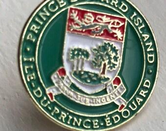 Prince Edward Island hat pin lapel pin