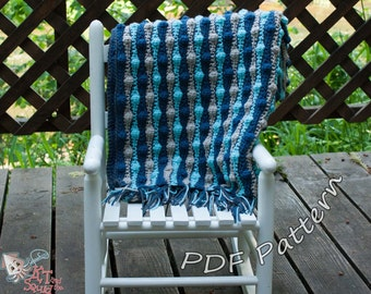 Crochet afghan pattern, striped blanket pattern, crochet pattern, crochet throw patten, easy baby blanket pattern, permission to sell