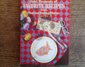 Ford Treasury of Favorite Recipes from Famous Eating Places Volume 3
