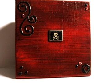 Unique Skull Jewelry Box