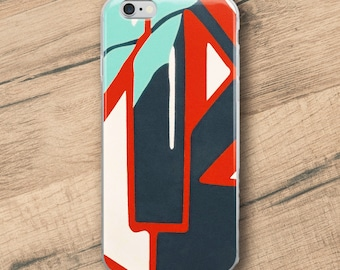 In the street No1, Graffiti, Phone Case For iPhone 8 iPhone 8 Plus, iPhone X, iPhone 7 Plus, iPhone 6, iPhone 6S
