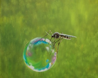 Mosquito ~~ Fine Art Print ~~ Oil Painting