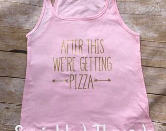 Pizza Workout Tank