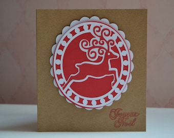 The Red Nosed Reindeer Christmas card