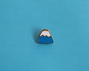 Fuji Hard Enamel Pin