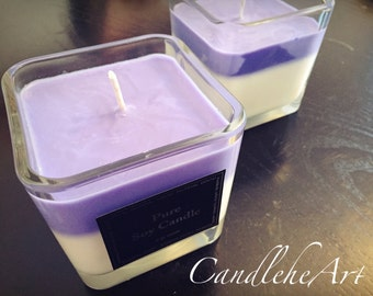 Soy Candle Cube 12oz