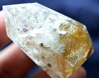 Natural Beautiful Beautiful Quartz Pyramid Crystal - 300 ct - 1 Piece Quartz Specimen - 0149
