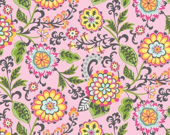 Suzette Pink - Flowers from Blend Fabrics