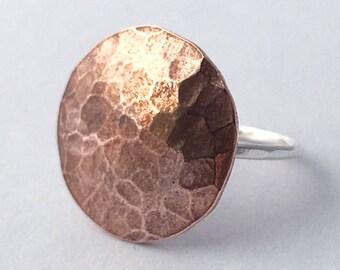 Full Moon Ring Lunar Ring Full Moon Jewelry Celestial Ring Celestial Jewelry Festival Jewelry Phases of the Moon Jewelry Lunar Jewelry