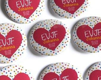 Additional badge individually / / / bachelorette party Kits