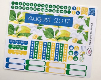 T91 || August Lemons Monthly Kit